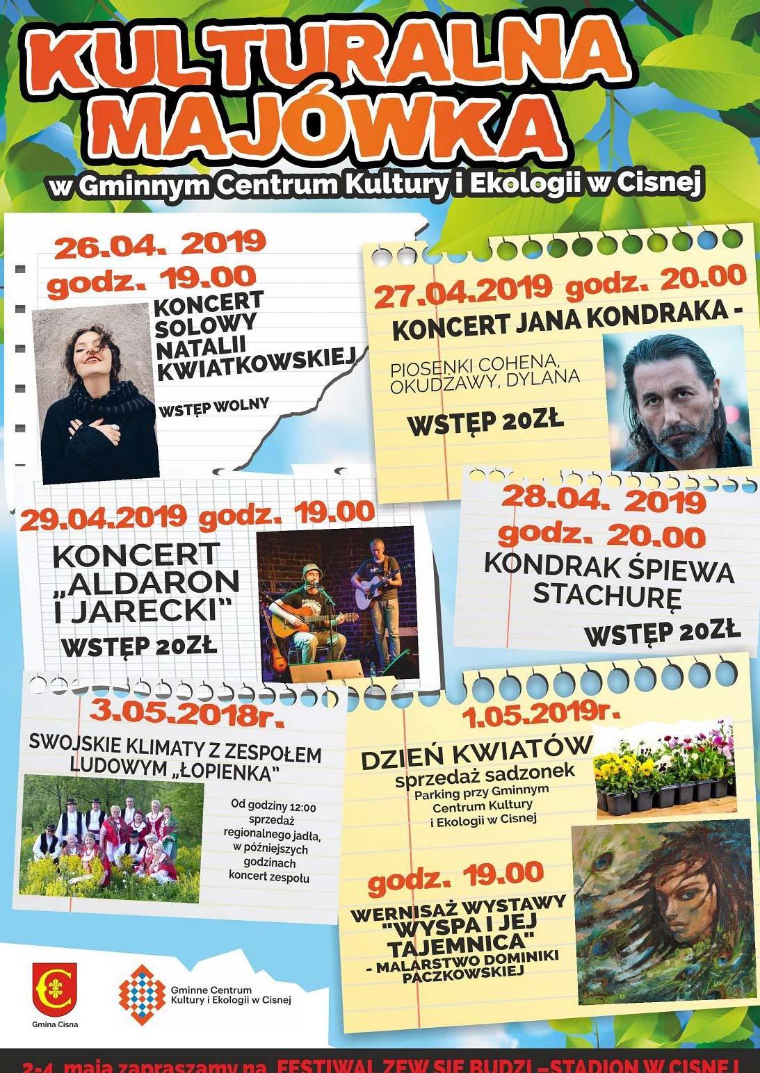 Kulturalna Majówka w Bieszczadach