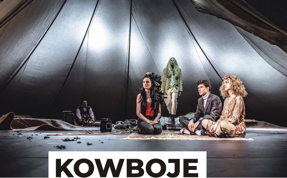 """Spektakl """"Kowboje"""" w KDK Krasnystaw"""