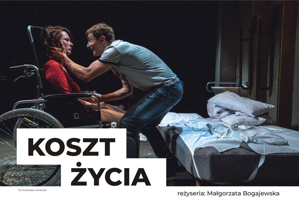 """Spektakl """"Koszt życia"""" w ramach Teatr Polska"""