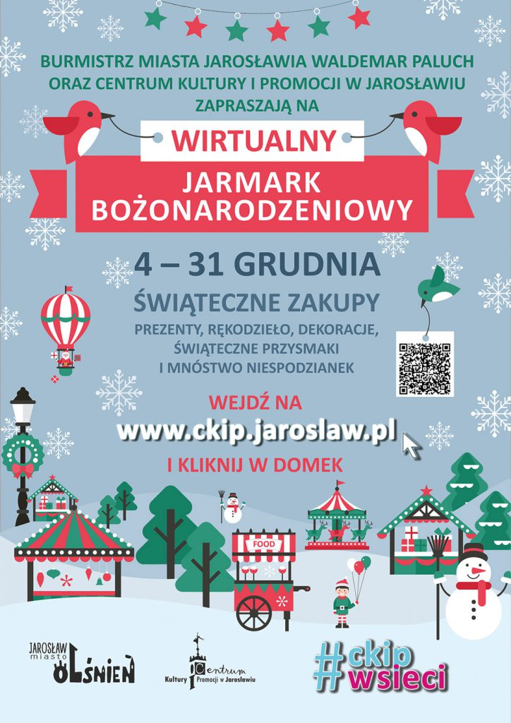 Wirtualny Jarmark Bożonarodzeniowy - Jarosław