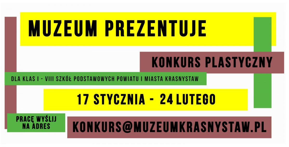 Muzeum Prezentuje – Konkurs Plastyczny