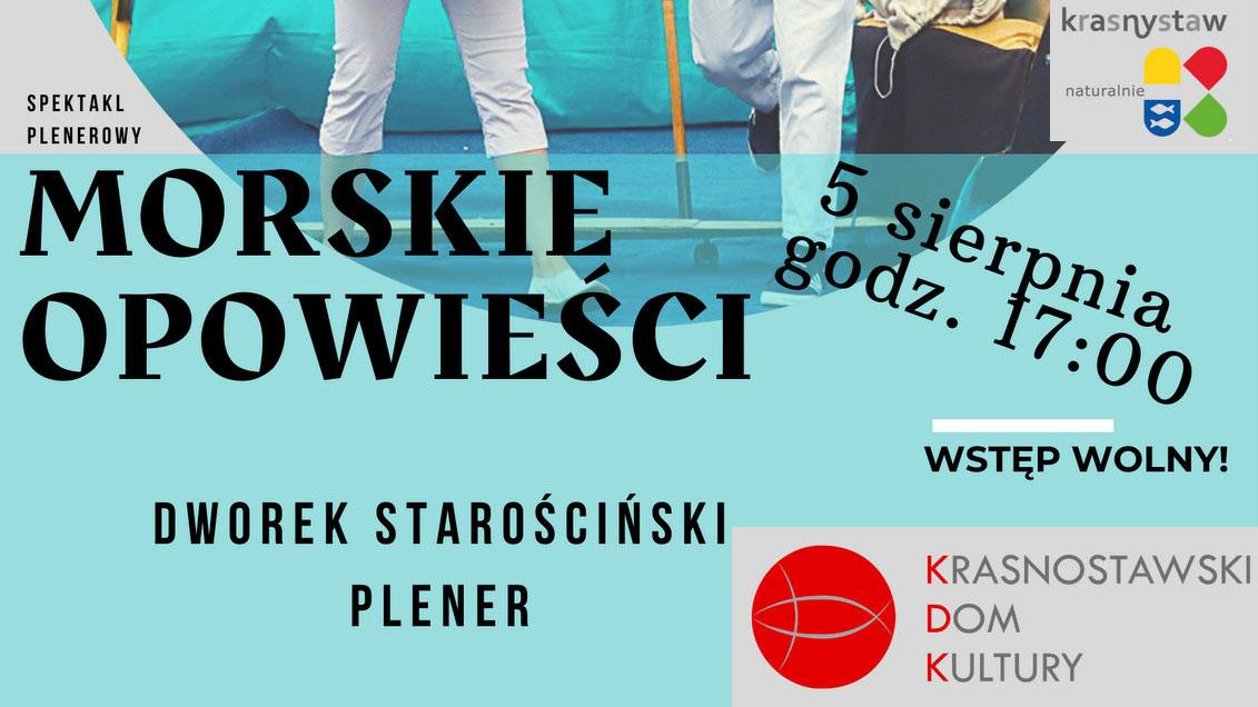Morskie opowieści w KDK Krasnystaw