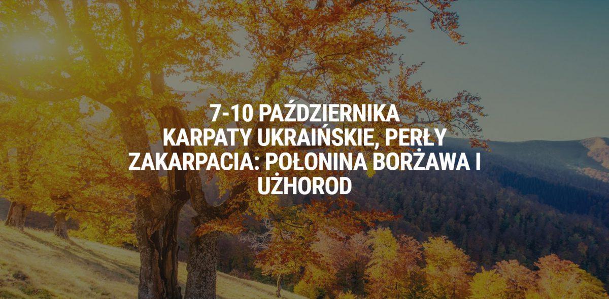 Jesienny fototrekking po Ukraińskim Zakarpaciu